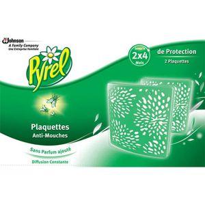 PIÈGE NUISIBLE MAISON PYREL Lot de 2 Plaquettes anti-mouches