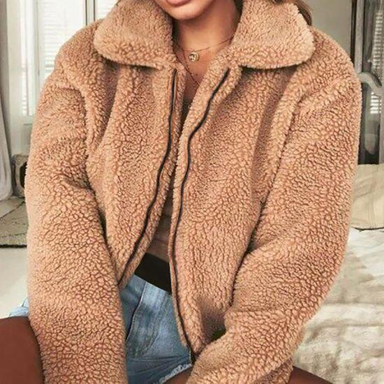 Chaud Parka Laine Zipper D'hiver Femmes Manteau Veste Manteaux Dames Wde9423 Artificielle qg1Uy4tfw