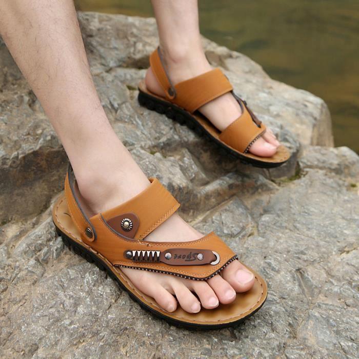 Sandales d'été des hommes respirant Y1UfT1c5D