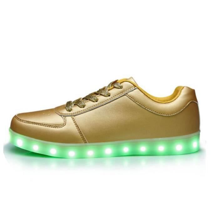 Hommes Femmes Chaussures LED Lampe Lacets Chaus... PFBF81B