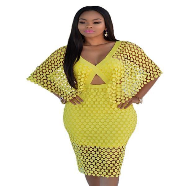 L Nouveau style de mode femmes dress manches chauve-souris sexy dress dété hanche paquet élégant dress