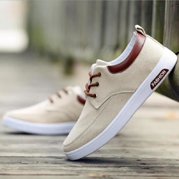 Chaussure Homme Casual Canvas Basket Homme Ska x0UokIw