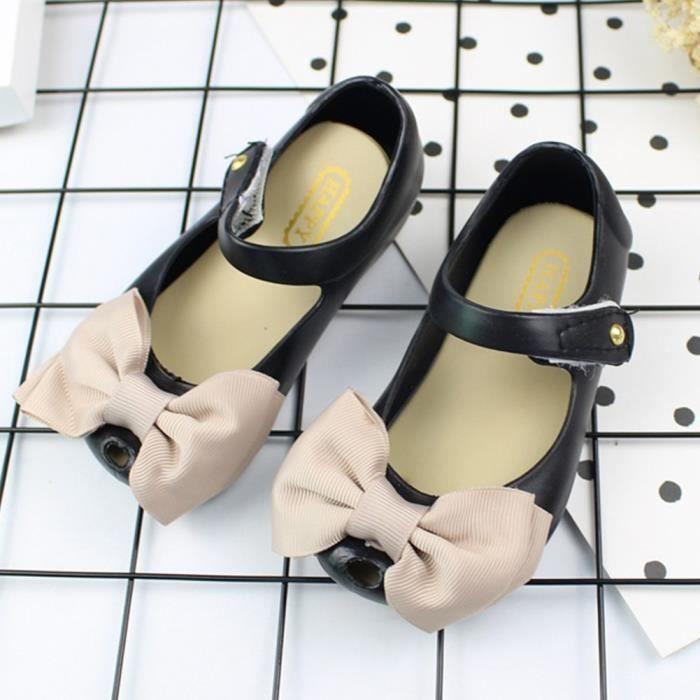 XZ738B1XZ738B1Bow Princesse Minnie Sandales Jelly Chaussures Enfants Filles Jeunes enfants Bébé