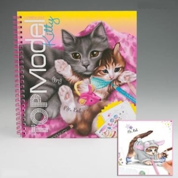Album Coloriage Top Model Modèle Create Your Kitty Chats