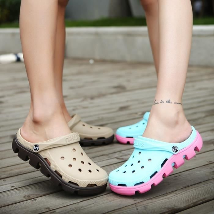 Les chaussures de mode Summer Beach Sandales plates pour le couple