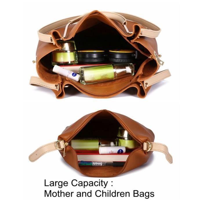 Sac dépaule Casual Mode Sacs à main Cross Body Bag de grande capacité Sacs fourre-tout Y2CL1