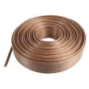 VALUELINE LSP-053RLC Câble haut-parleur en bobine - 2x 6.00 mm? - 100 m - Transparent