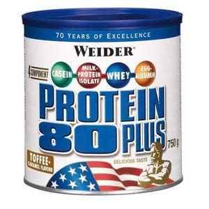 WEIDER Boîte de Protein 80+ Toffee Caramel 750g