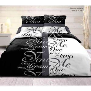 drap noir lit 1 place achat vente drap noir lit 1. Black Bedroom Furniture Sets. Home Design Ideas