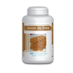 TONUS - VITALITÉ Levure de Bière  - 300 comprimés à 400 mg