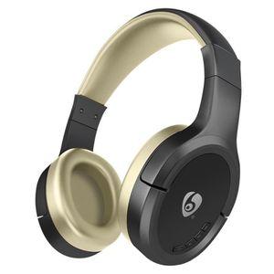 CASQUE - ÉCOUTEURS FATCHOY - MX777 Casque supra-auriculaire Bluetooth