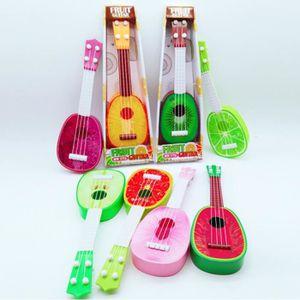 INSTRUMENT DE MUSIQUE 1 PC fruit guitare jouet enfants ukulélé jouet 32