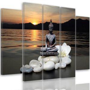 tableau toile zen achat vente tableau toile zen pas. Black Bedroom Furniture Sets. Home Design Ideas