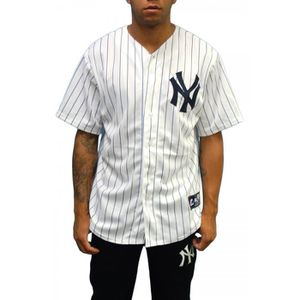 MAJESTIC chemise Blanc Vente Achat YANKEES CHEMISE JERSEY OR8Axq80