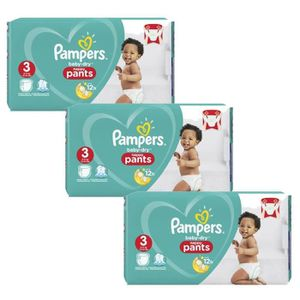 COUCHE Maxi Pack 240 Couches Pampers Baby Dry Pants taill