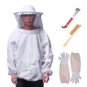 POIGNÉE DE RUCHE Combinaison d'apiculteur 4PCS Costume Apiculteur 1