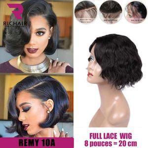 PERRUQUE - POSTICHE perruque bresilienne femme full lace wig ondulé RE