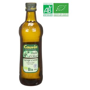 HUILE CAUVIN Huile d'Olive Bio - 50 cl