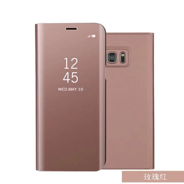 7d06357f25795d Samsung etui clear view cover pour galaxy s7 edge rose - Achat ...