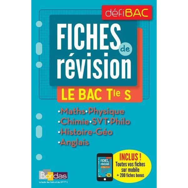 defibac cours methodes exos physique chimie 1re s