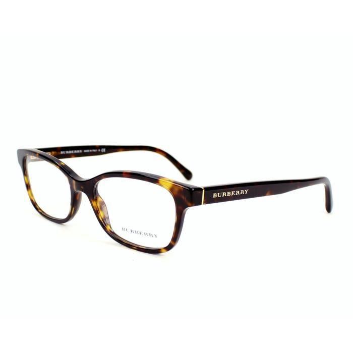 Lunettes de vue Burberry BE-2201 -3002 - Achat   Vente lunettes de ... 2557314f4281