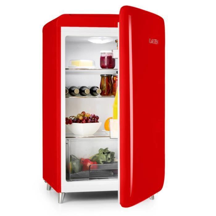 refrigerateur rouge vintage achat vente pas cher. Black Bedroom Furniture Sets. Home Design Ideas