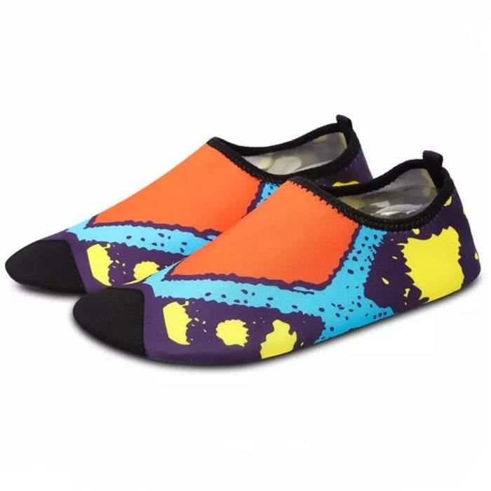 Sandales femme Chaussure femmes léger Confortable été Eau Chaussures Plage Slip Sur Parc Aquatique Sandales O7erxk7