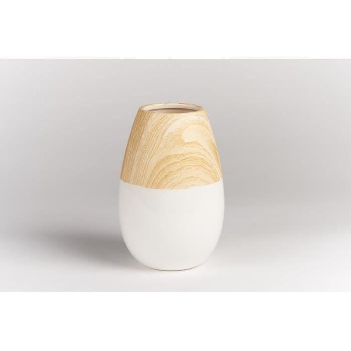 vase bois achat vente vase bois pas cher soldes d s le 10 janvier cdiscount. Black Bedroom Furniture Sets. Home Design Ideas