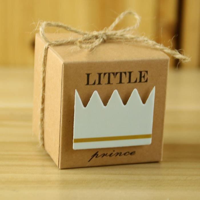 Mariage baptême décoration pour rangement bleu boîte à dragées tempsa 100pcs boîte à dragées