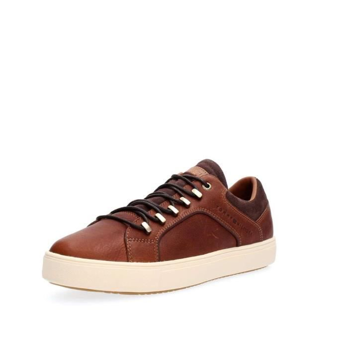 TOMMY HILFIGER SNEAKERS Homme Cognac, 43