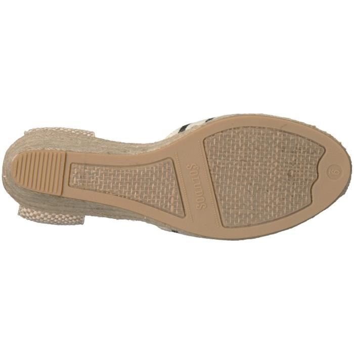 Women's Striped Tall (90mm) Wedge Sandal DJXX9 Taille-39