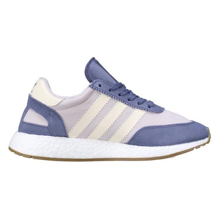 Basket Adidas Iniki Runner W Ba9995 Blanc - Bleu