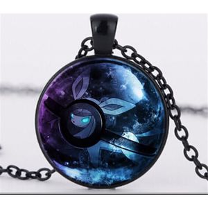 SAUTOIR ET COLLIER Pokemon boule de cristal collier pendentif Cabocho ... a29fb089a3d9