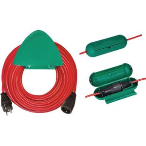 RALLONGE BRENNENSTUHL Rallonge électrique rouge 40m H05VV-F