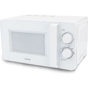 MICRO-ONDES Microondes MW700 blanc IKOHS 20L 6 fonctions 34X45