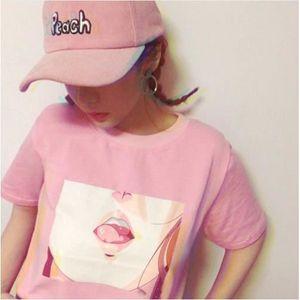 T-SHIRT Top - T-shirt femme tendance motif - Sexy japan he