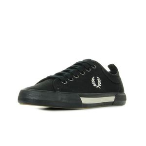 BASKET Baskets Fred Perry Horton Canvas Blk