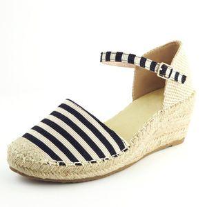 Chaussure Plateforme Mode Femme Talon Sandale Espadrille Compensé Ibgy6fY7v
