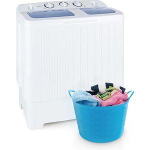 LAVE-LINGE oneConcept Ecowash  Machine à laver 4,2 kg Essoreu