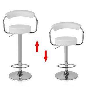Chaises hautes achat vente chaises hautes pas cher cdiscount for Chaise de bar avec dossier