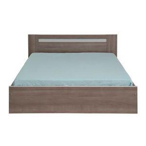 STRUCTURE DE LIT Cadre de lit à tiroirs + Tête de lit 160*200 - EVY