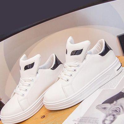 chaussures multisport Femme simple cuir véritable Souliers simples de femme blanc taille37 Mtaq4C9n