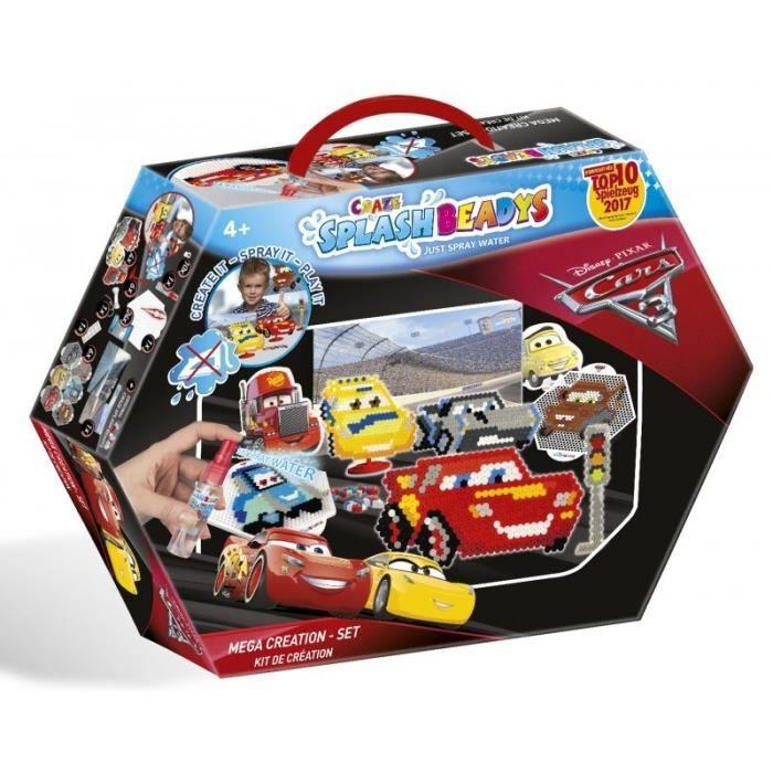 CARS - Perles à vaporiser - Kit de création