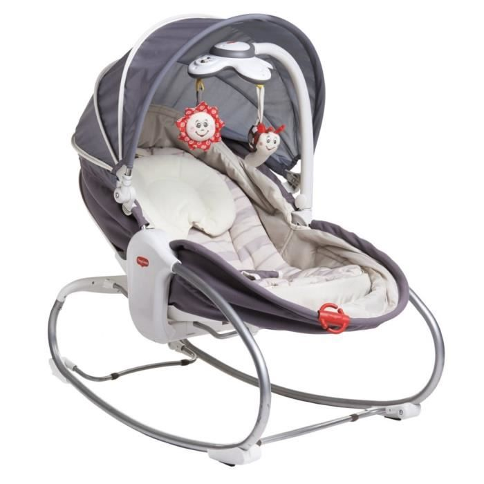 TINY LOVE Transat Rocker Napper Cozy - gris