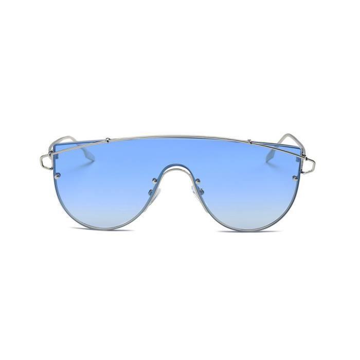 Lunettes soleil de Femmes Unisexe Hommes 8909 miroité cd Retro bleu E  Aviator Mode Lunettes Vintage ... 2c5f94068c4d