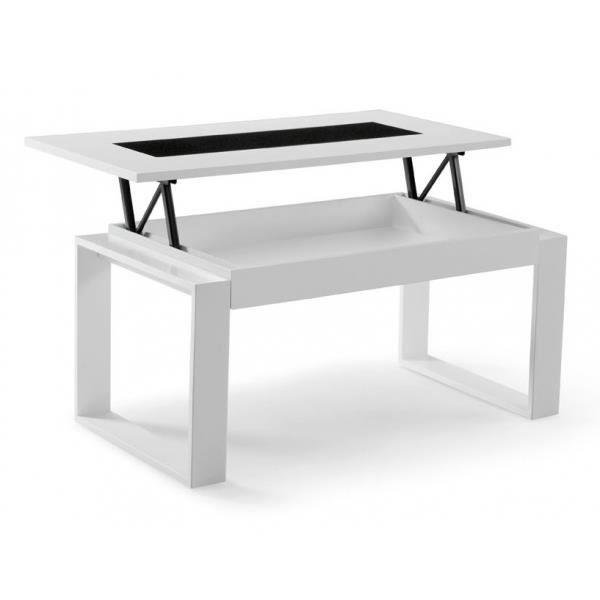 Table Basse Relevable Colours Largeur 96cm Profondeur 50cm
