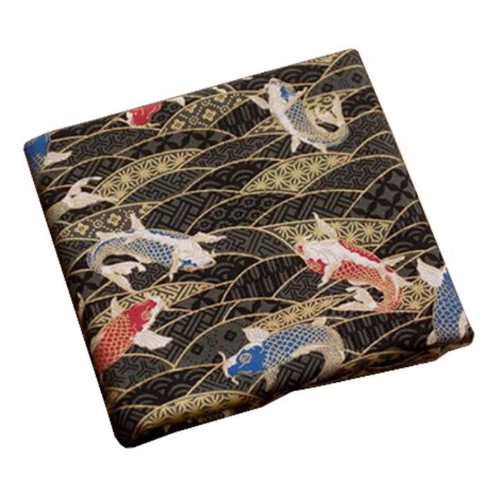 tissu japonais achat vente tissu japonais pas cher cdiscount. Black Bedroom Furniture Sets. Home Design Ideas