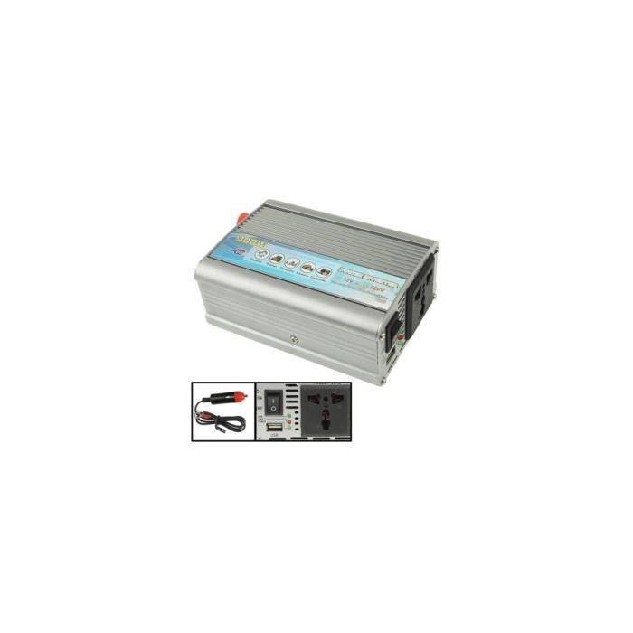 CONVERTISSEUR AUTO Convertisseur électrique Auto - 300W - DC 12V vers