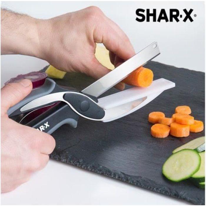 couteau ciseaux avec mini planche d couper int gr e blade board achat vente planche. Black Bedroom Furniture Sets. Home Design Ideas