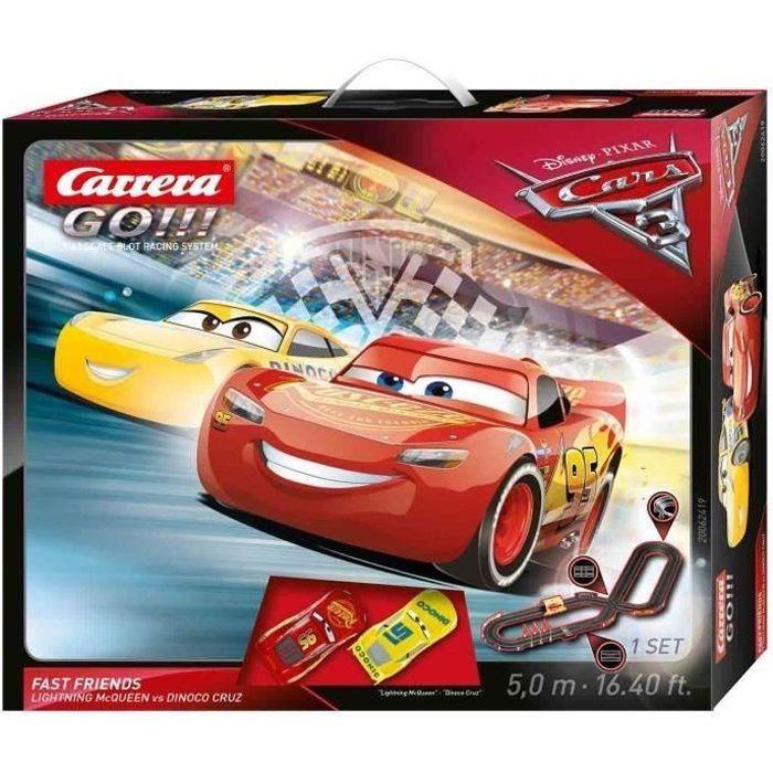 CIRCUIT Circuit CARRERA GO - Disney/Pixar Cars 3 Fast Frie
